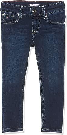 Tommy Hilfiger Girls Nora Skinny Nyds Jeans para Niñas