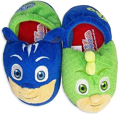 PJ Masks Boys Slippers Catboy and Gekko