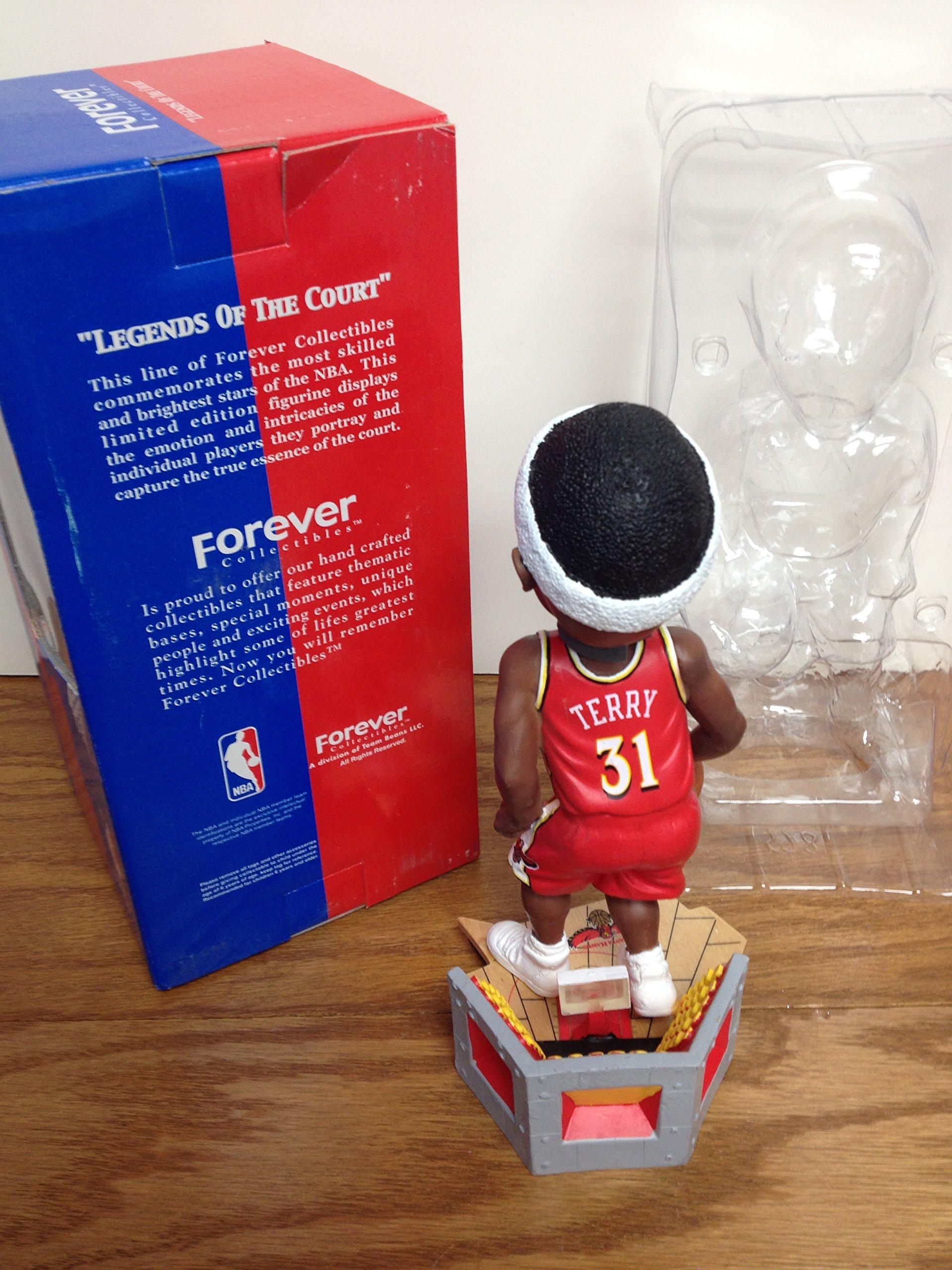 "JASON TERRY ""THE HAWK"" Legends of the Court ATLANTA HAWKS NBA Bobblehead Bobble"