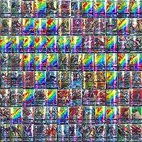 Pokemon kaarten GX, Pokemon-ruilkaarten set van 100 Pokémon-kaarten met 95 GX Pokemonkaarten en 5 Mega Pokemon Cards…