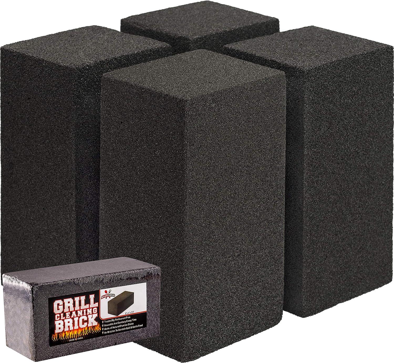 Boardwalk Grill Brick 8 x 4 Black 12//Carton GB12PC