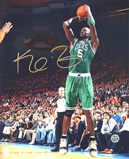 new product a7177 ad922 Kevin Garnett Boston Celtics Signed Autographed 8