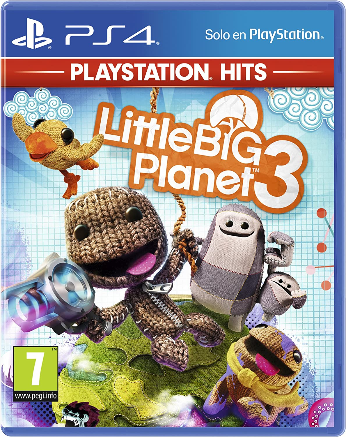 Little Big Planet 3 Hits - Versión 14