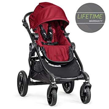 Baby Jogger City Select Single Stroller Red