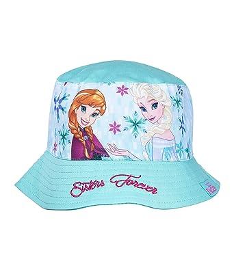 Disney Frozen Elsa   Anna Girls Sun Hat - Turquoise  Amazon.co.uk ... c21ed87e20c