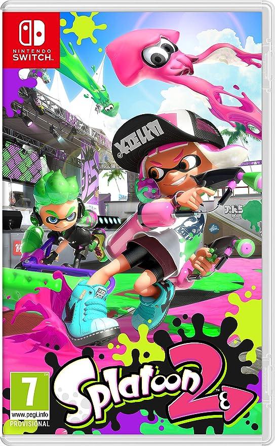 Splatoon 2, Edición Estándar: Nintendo: Amazon.es: Videojuegos