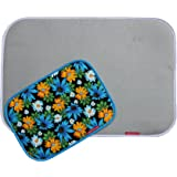 TheQuiltMate - Premium Ironing Pad, Designed Especially for Quilters and Crafters, COMBO: CLASSIC Silver, 17 in x 25 in + Blue MINI, 10in x 14in