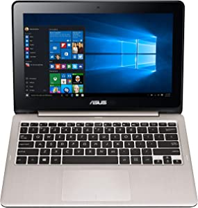 ASUS VivoBook Flip TP200SA-DH01T 11.6 inch display Thin and Lightweight 2-in-1 HD Touchscreen Laptop, Intel Celeron 2.48 GHz Processor, 4GB RAM, 32GB EMMC Storage, Windows 10 Home (Renewed)