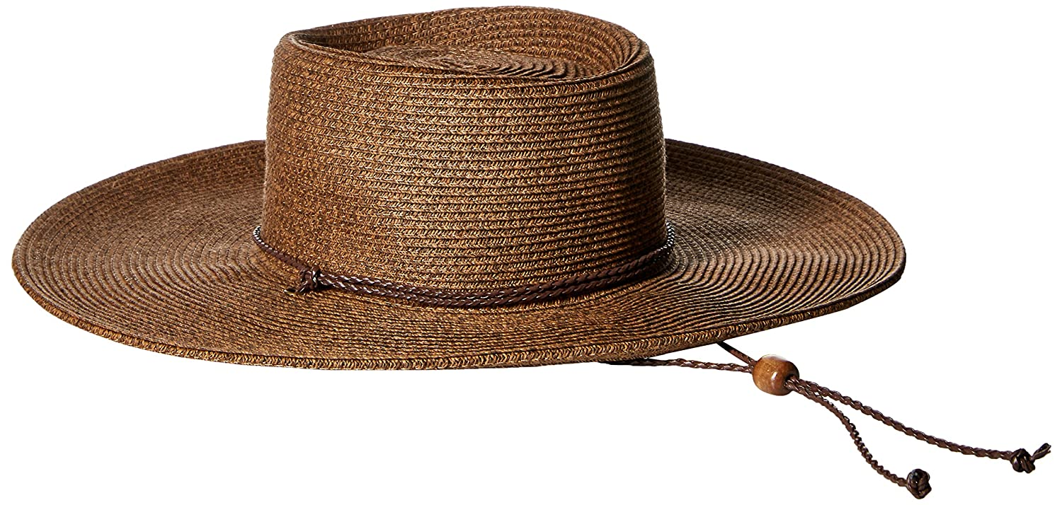 25bf2283 San Diego Hat Company Women's 4-inch Brim Ultrabriad Sun Hat with Adjustable  Chin Cord, Brown, One Size at Amazon Women's Clothing store: