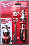 Milwaukee 48-22-2302C 10-in-1 Ratcheting Multi Driver Square Drive Bits with 8-in-1 Compact Driver