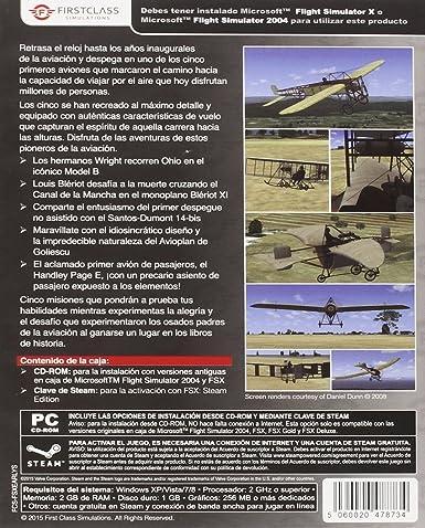 Early Years Of Flight: Expansion Para FSX: Amazon.es: Videojuegos