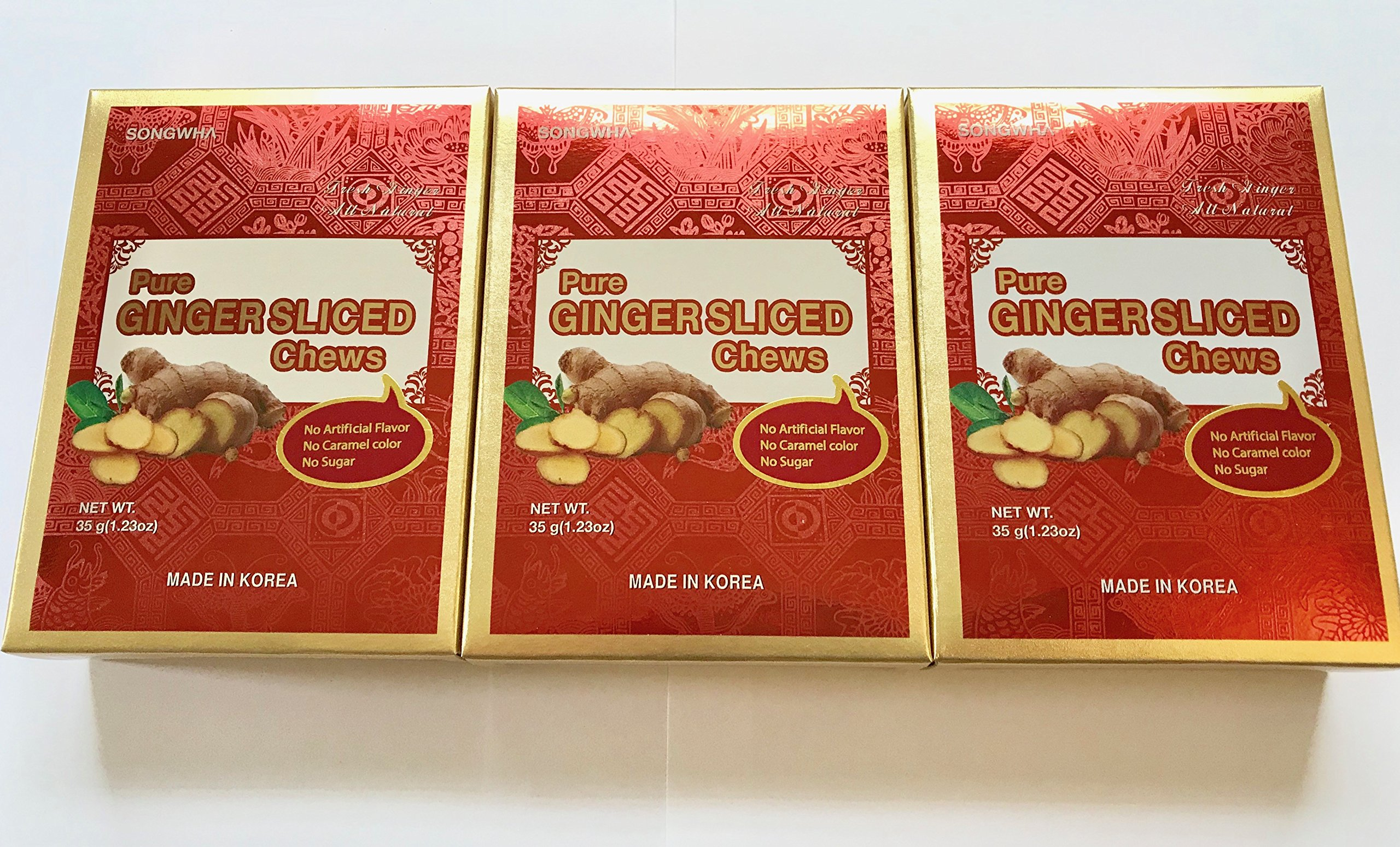 Songwha Pure Ginger Slices 3.7oz (Pack of 2) by Songwha (Image #3)