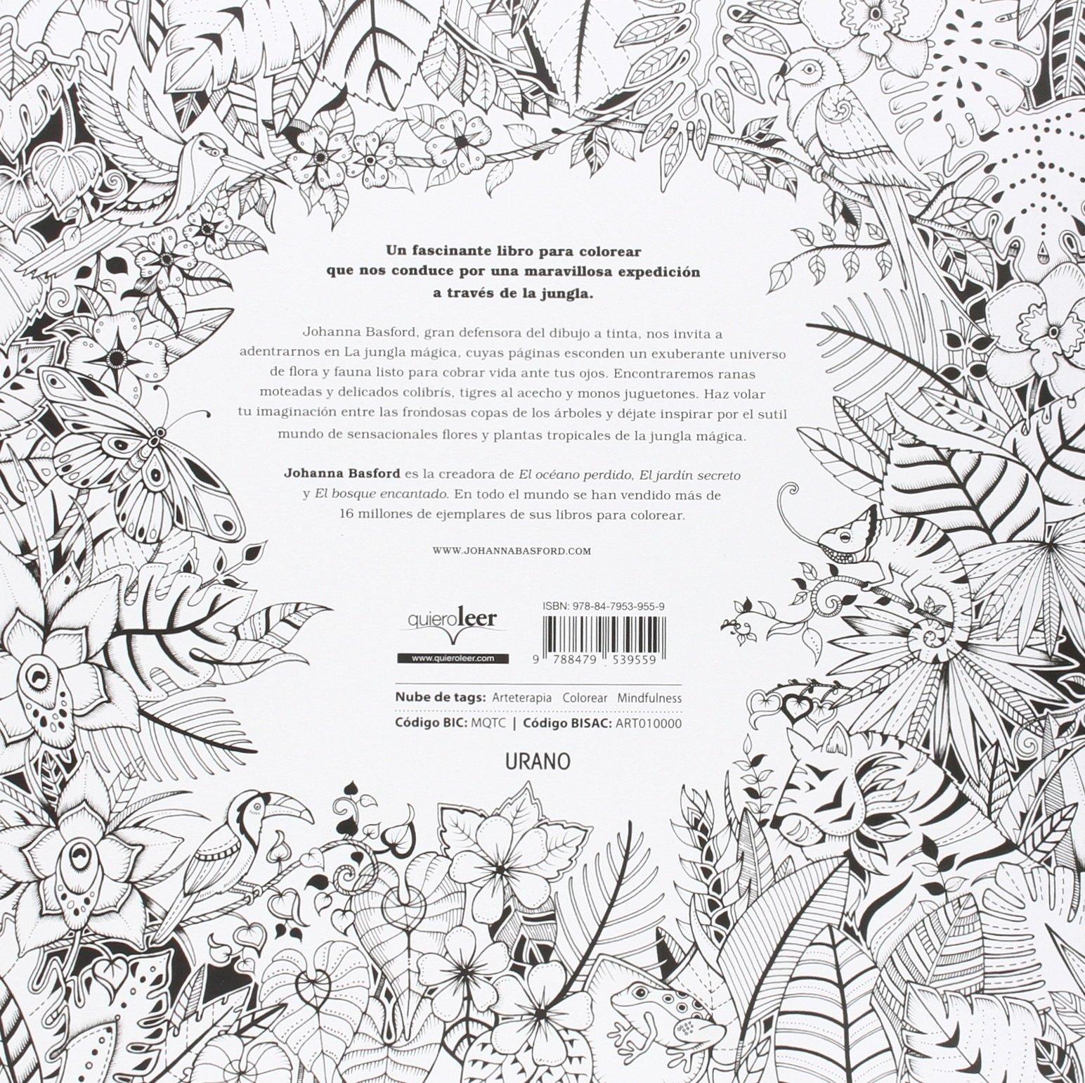 La jungla mágica (Entorno y bienestar): Amazon.es: JOHANNA BASFORD ...