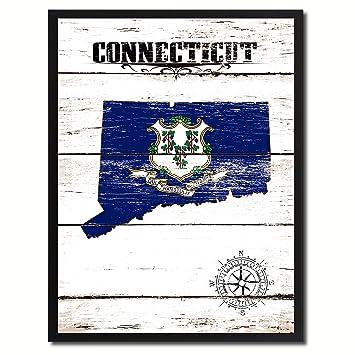 Amazon.de: Connecticut Flagge statemake eine tolle Deko Custom Made ...