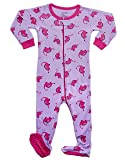 Leveret Dinosaur Footed Pajama Sleeper 100% Cotton