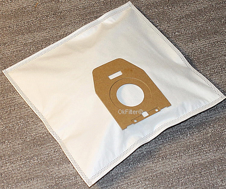 10x Bolsas de filtro de bolsa de vacío 2x Filtro para aspirador ...