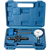 Central Tools 3D101 0 to 1 Inch Dial Indicator Set with Magnetic Base