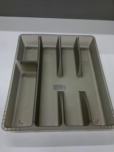 Ikea Rationell Variera Range Couverts Organiseur De Tiroir Gris Fonce Amazon Fr Cuisine Maison