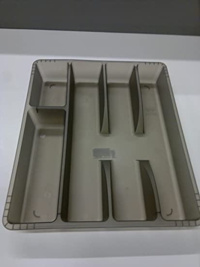 IKEA RATIONELL VARIERA Cutlery tray / Drawer Tidy - Dark Grey