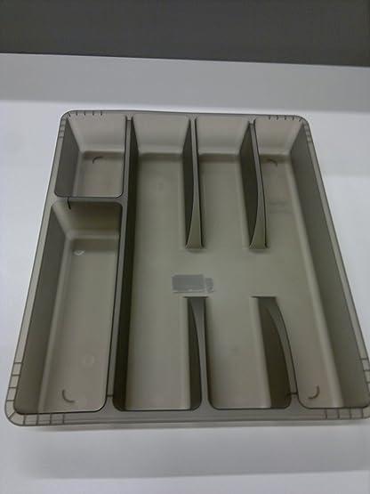 Ikea Rationell Variera Cutlery Tray/cassetto, colore: grigio scuro ...