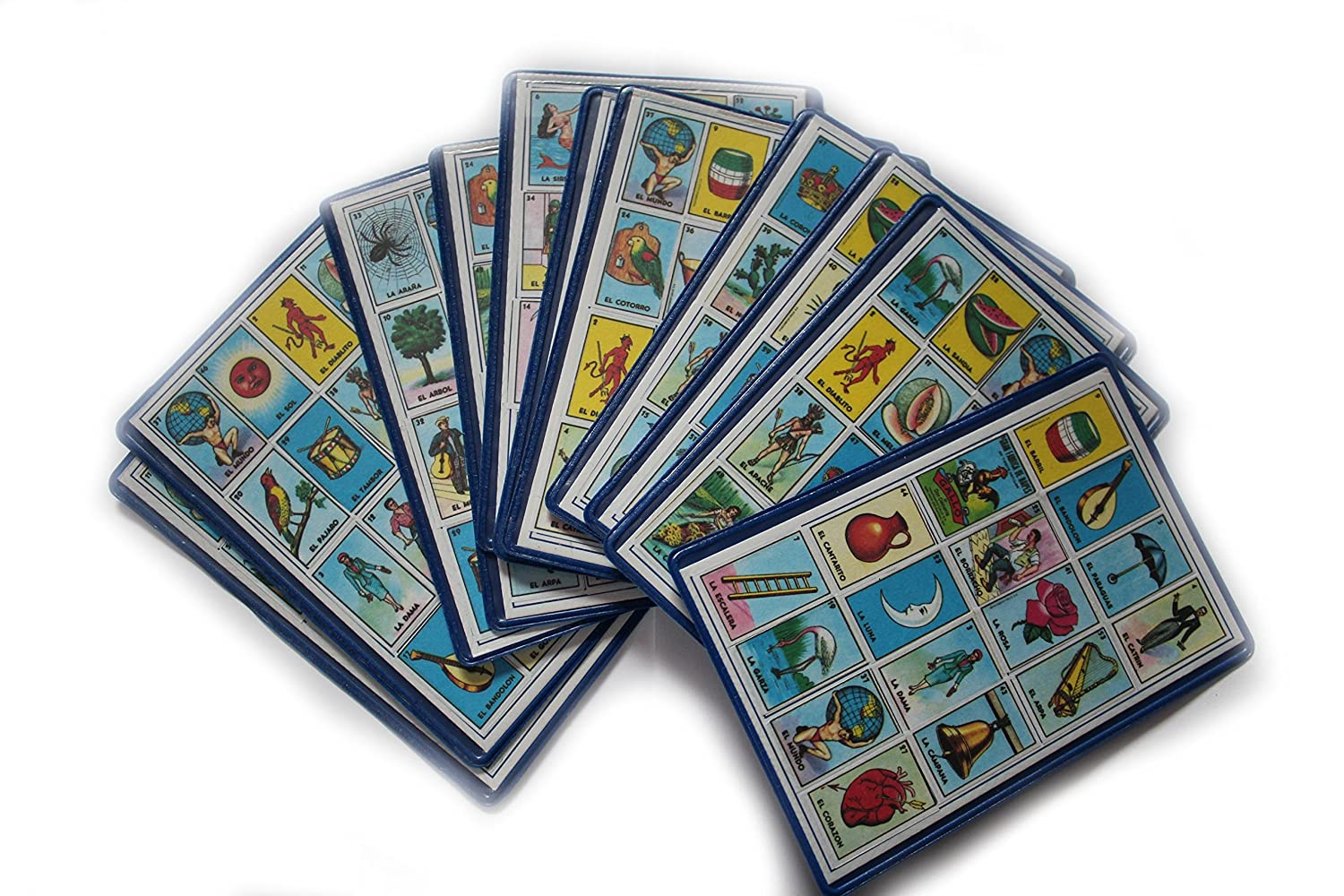 Amazon.com : 30 Loteria Mexicana Playing Small Cards ...