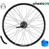 Urban Fixie Bike Silver Black White Rims Stars Rim 30mm Fixed Gear Single Speed