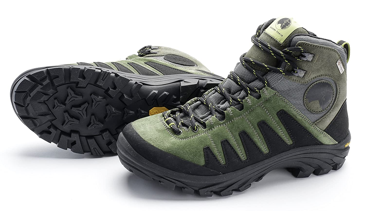 Mishmi Takin Kameng Mid Event Waterproof Hiking Boot B06XFN8KYZ EU 46 / US M 12.5|Moss Green