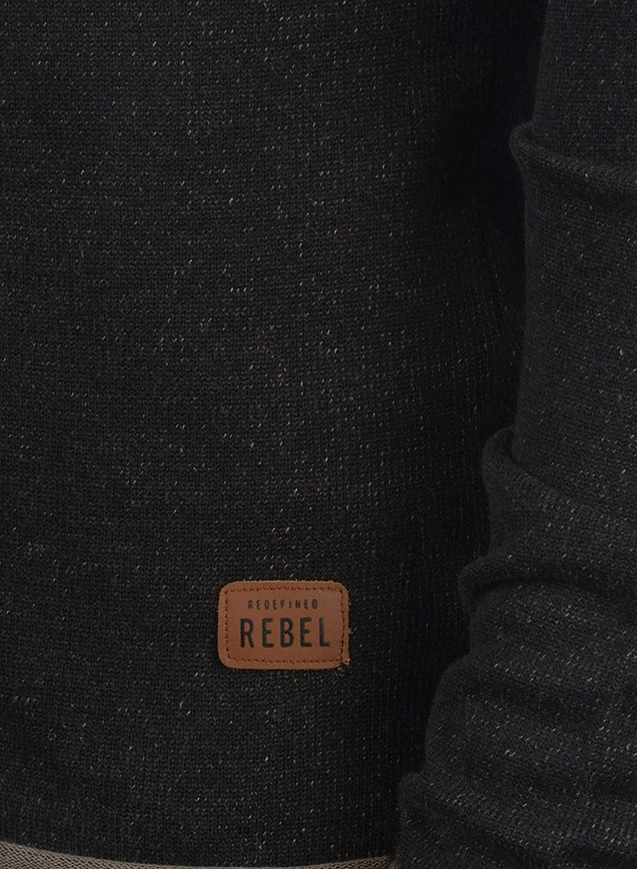 Redefined Rebel Maxen C/árdigan Chaqueta De Punto Rebeca para Hombre con V-Neck De 100/% algod/ón