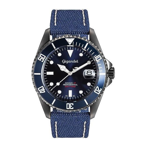 De Azul 022 Reloj Sea Ground G2 Hombre Automático Gigandet vIYmbf7gy6