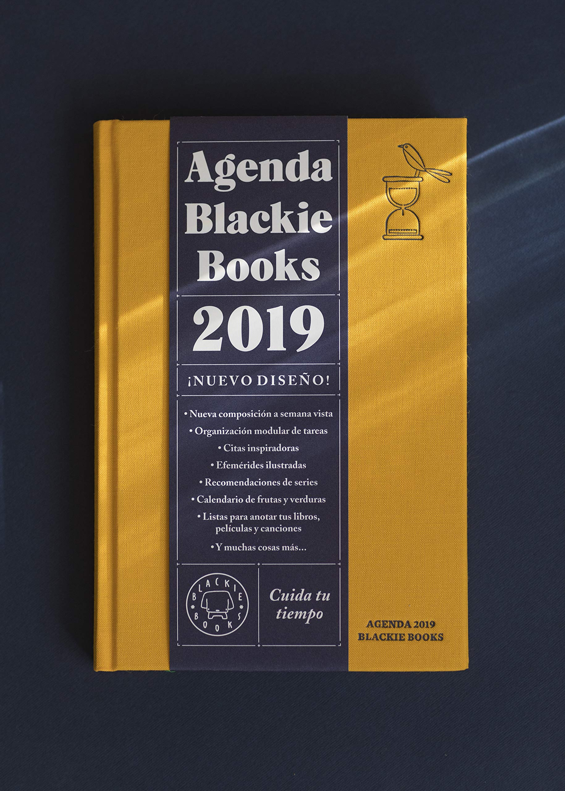 Agenda Blackie Books 2019: Cuida tu tiempo: Daniel López ...