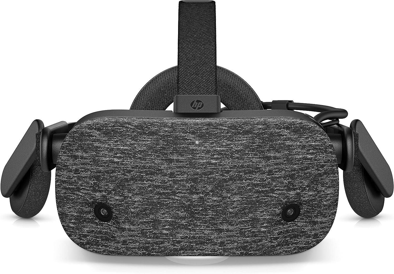 HP Reverb - Gafas de Realidad Virtual Edición Profesional, resolución de 2160 x 2160 por Ojo, 114º ángulo de visión, Bluetooth Integrado, ultraligeras