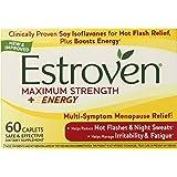 Estroven Maximum Strength + Energy - One Per Day Formula - 60 Caplets