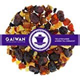 "N° 1371: Tè alla frutta in foglie""Mirtillo Rosso Melograno"" - 100 g - GAIWAN GERMANY - tè in foglie, mirtilli rossi, papaya, mela, rosa canina, barbabietola rossa"