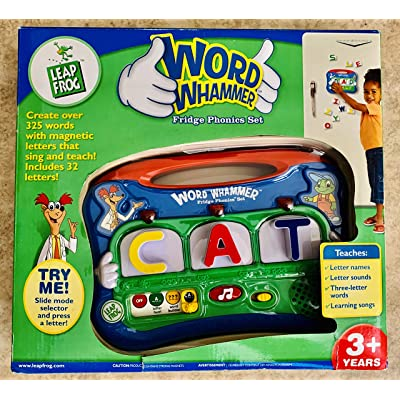 LeapFrog Word Whammer Magnetic Learning Set: Toys & Games