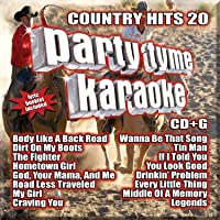 Party Tyme Karaoke: Country Hits 20