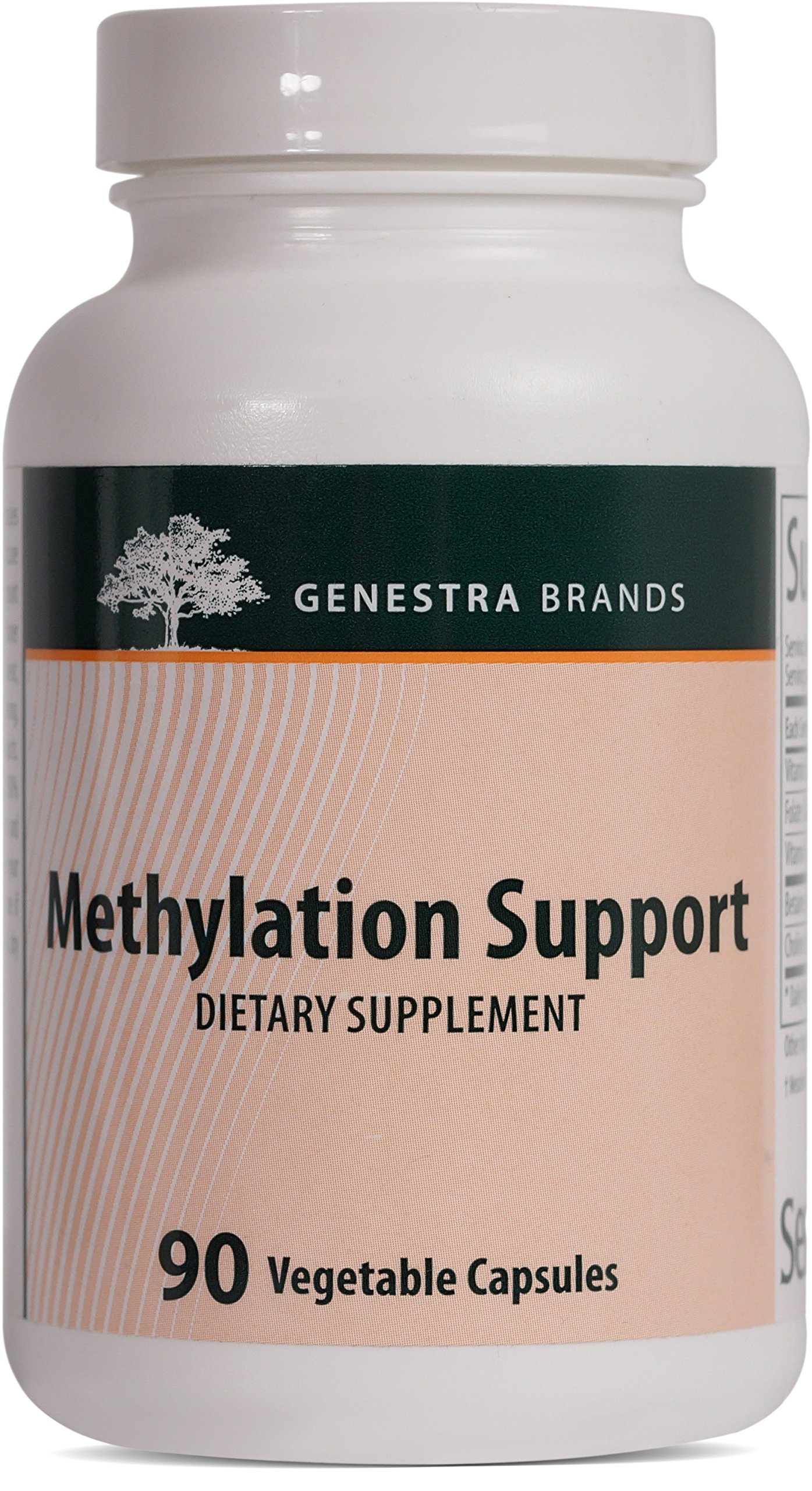 Genestra Brands - Methylation Support - Combination of Betaine, Choline, and B Vitamins to Support Homocysteine Metabolism - 90 Capsules