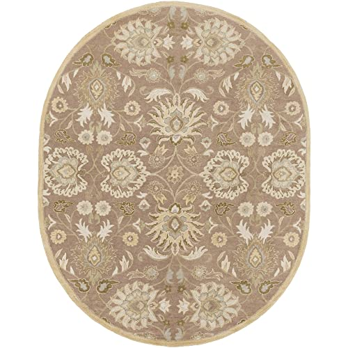 Surya Caesar CAE-1108-69OV Hand Tufted Wool Classic Area Rug, 6-Feet by 9-Feet