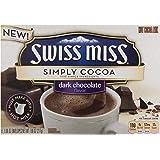 Swiss Miss Simply Cocoa, Dark Chocolate, 8 ct