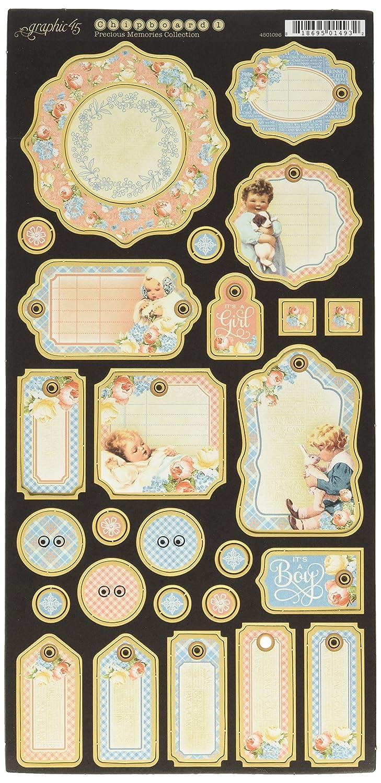Graphic 114.30 cm Erinnerungen Aufzeichnungen Spanplatte Graphic45 4501096