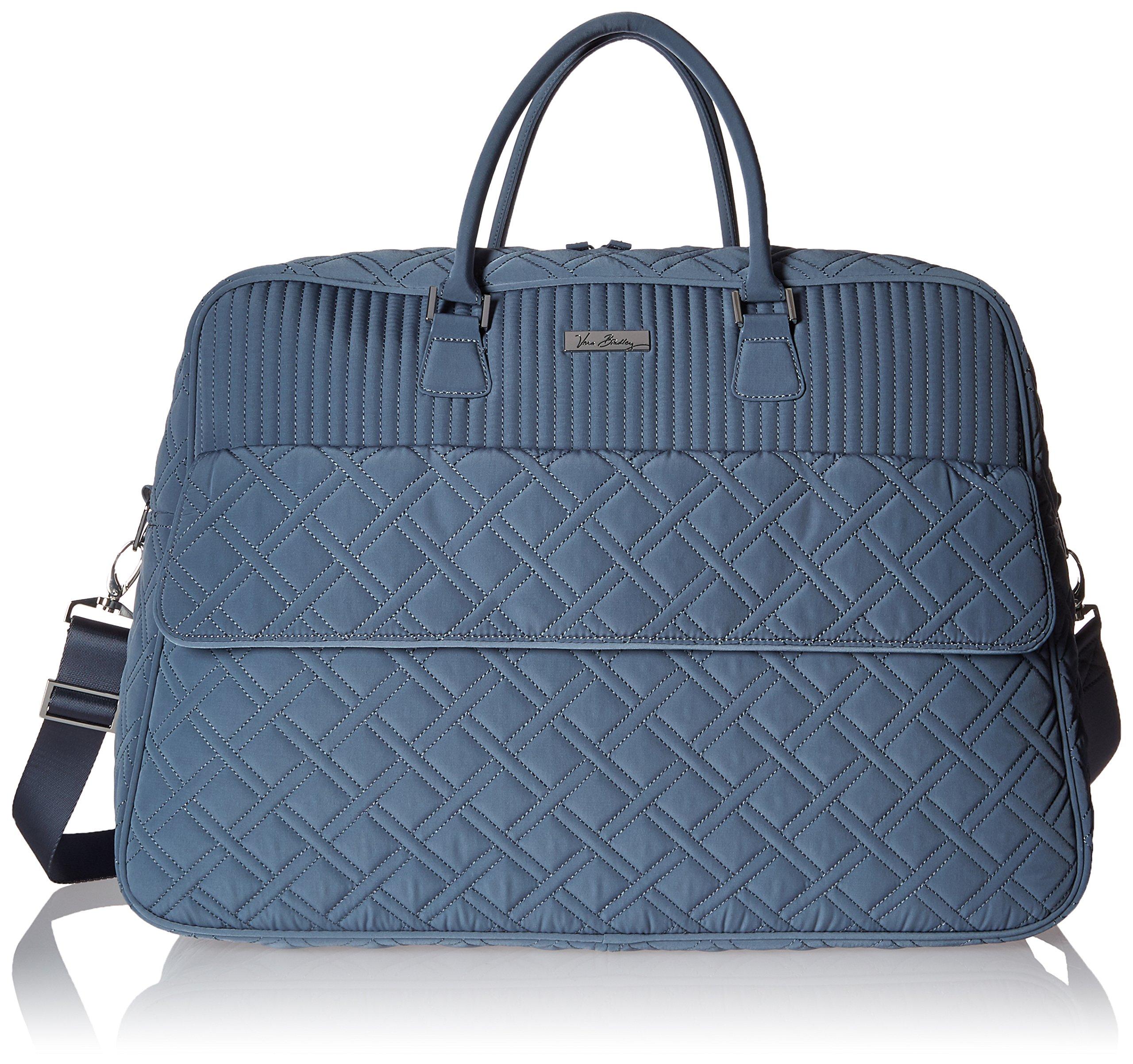 Vera Bradley Luggage Women's Grand Traveler, Charcoal