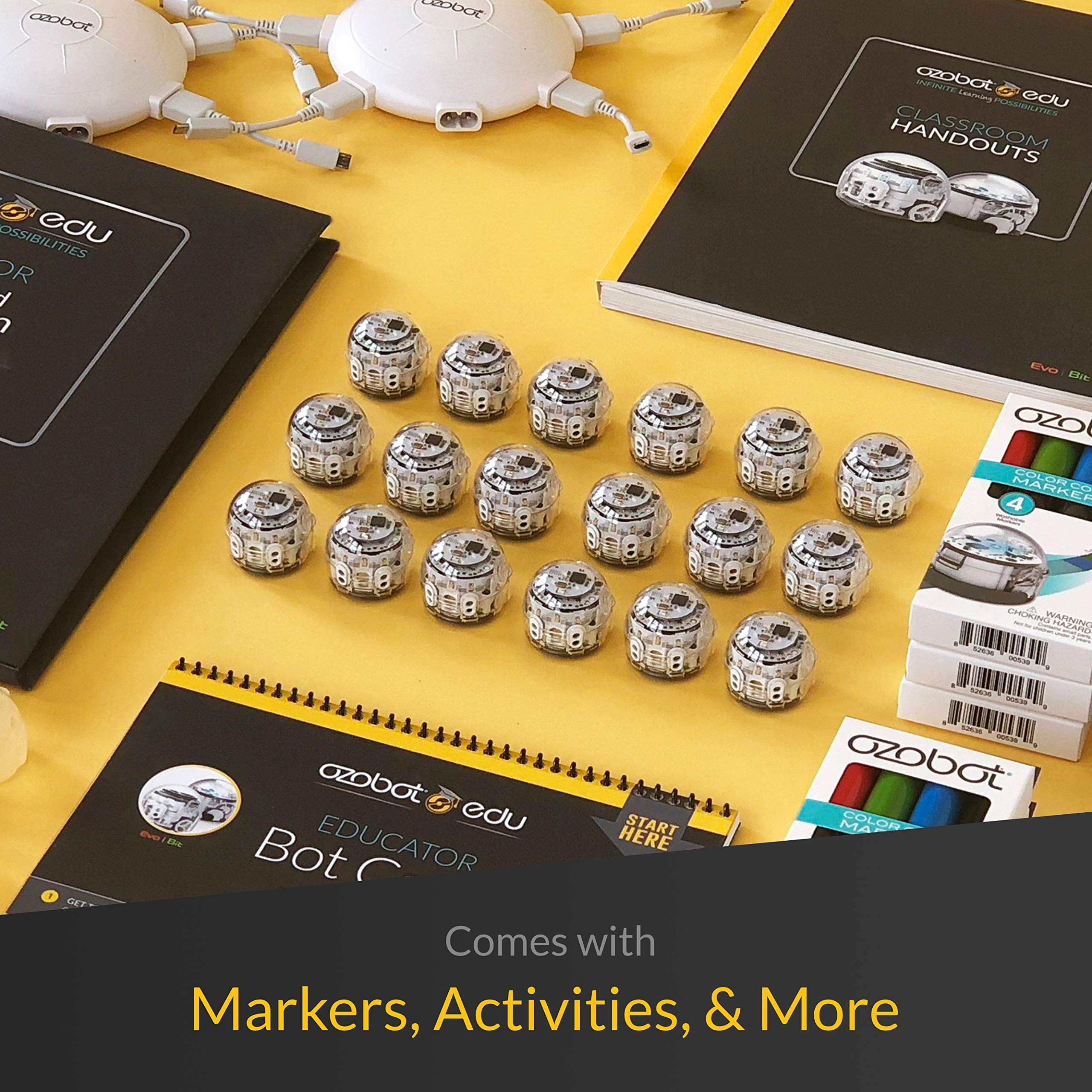Ozobot Evo Classroom Kit -18 bot Pack (White) by Ozobot (Image #3)