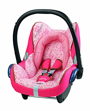 Maxi Cosi Cabriofix Group 0 Infant Carrier Car Seat Leopard Pink
