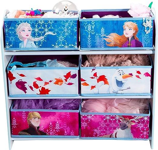 Disney Meuble de rangement pour chambre d/'enfant avec 6 bacs, B H T Ann/äherungswerte: 63,5 /x 30/cm /x 60