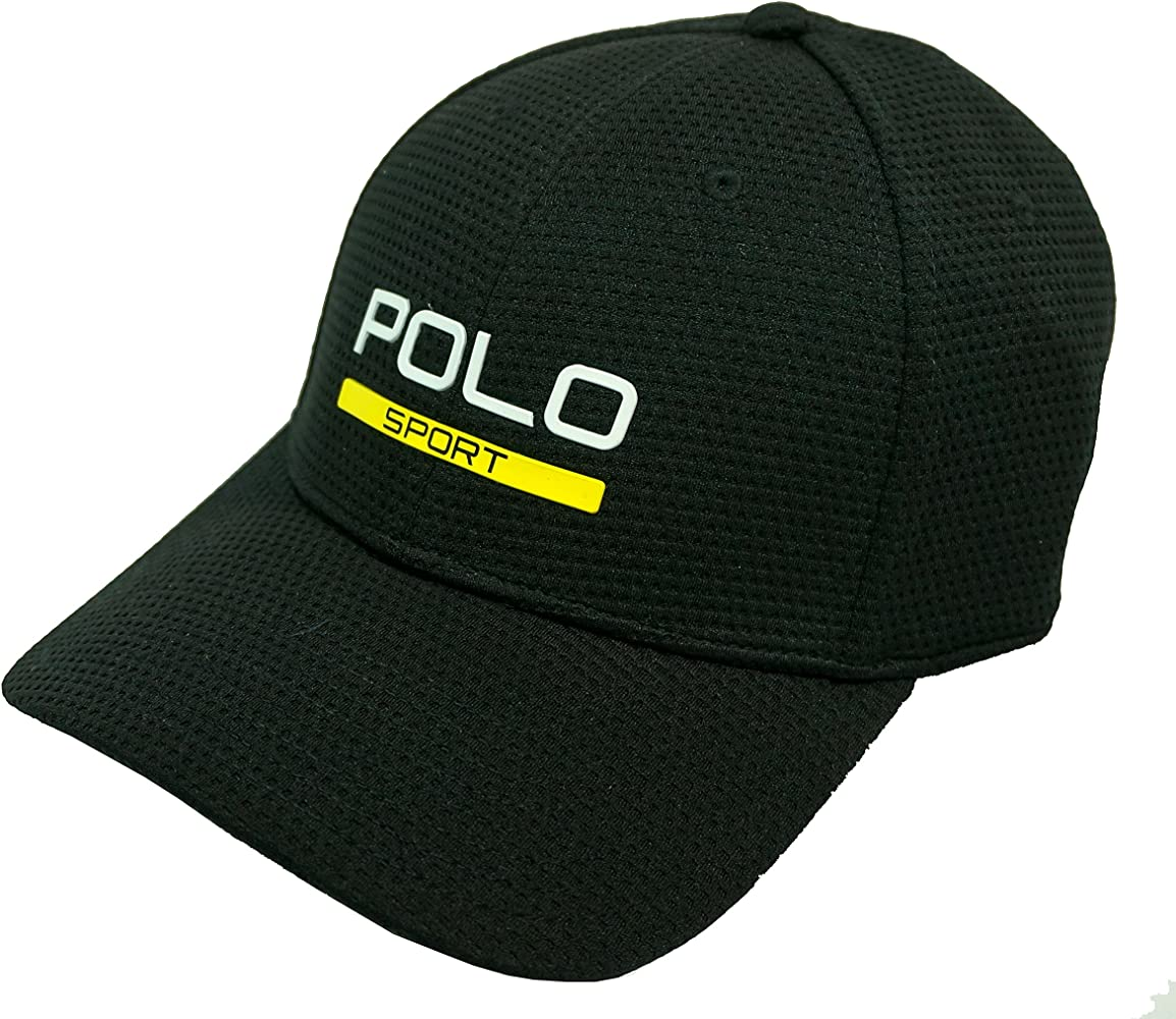 Ralph Lauren - Polo Sport Perform - Gorra - Black: Amazon.es: Ropa ...