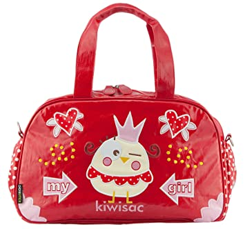 femme hot-vente dernier magasin meilleurs vendeurs Kiwisac pour Bellemont Sac à Langer - My Girl - Vernis Rouge ...