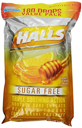 HALLS Sugar-Free Cough Drops - The Best Value for the Money