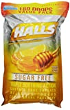 HALLS Sugar-Free Cough Drops, Honey Lemon, 180 Count