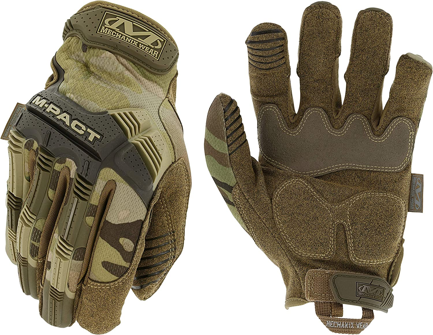 New Mechanix Tactical M-PACT Gloves Black Brown Combat Military Airsoft Free P/&P