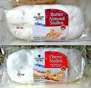 Amazon Com Variety 2 Pack Butter Almond Cherry Deutsche Kuche