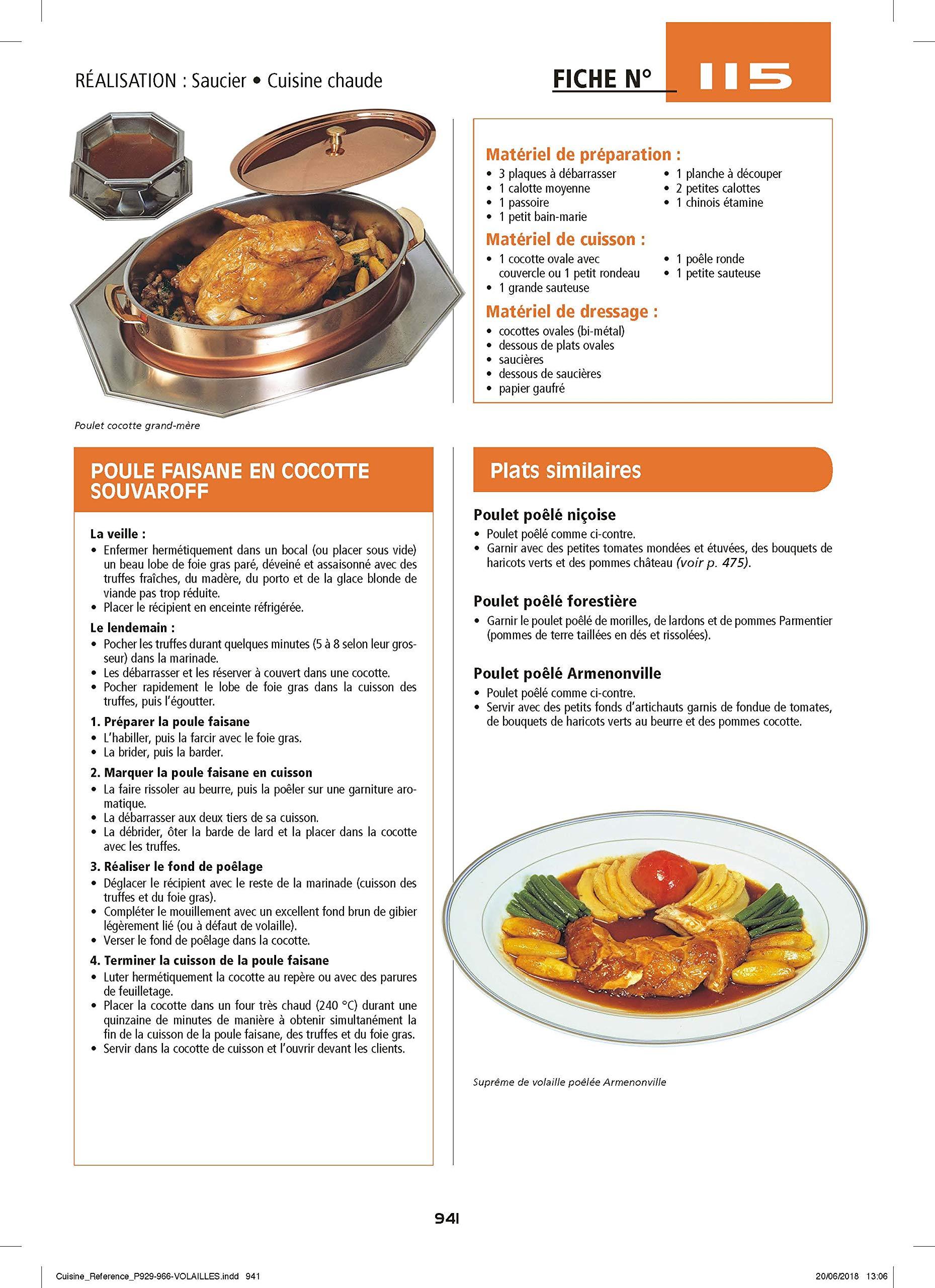 La Cuisine De Reference Amazon Fr Maincent Morel Michel